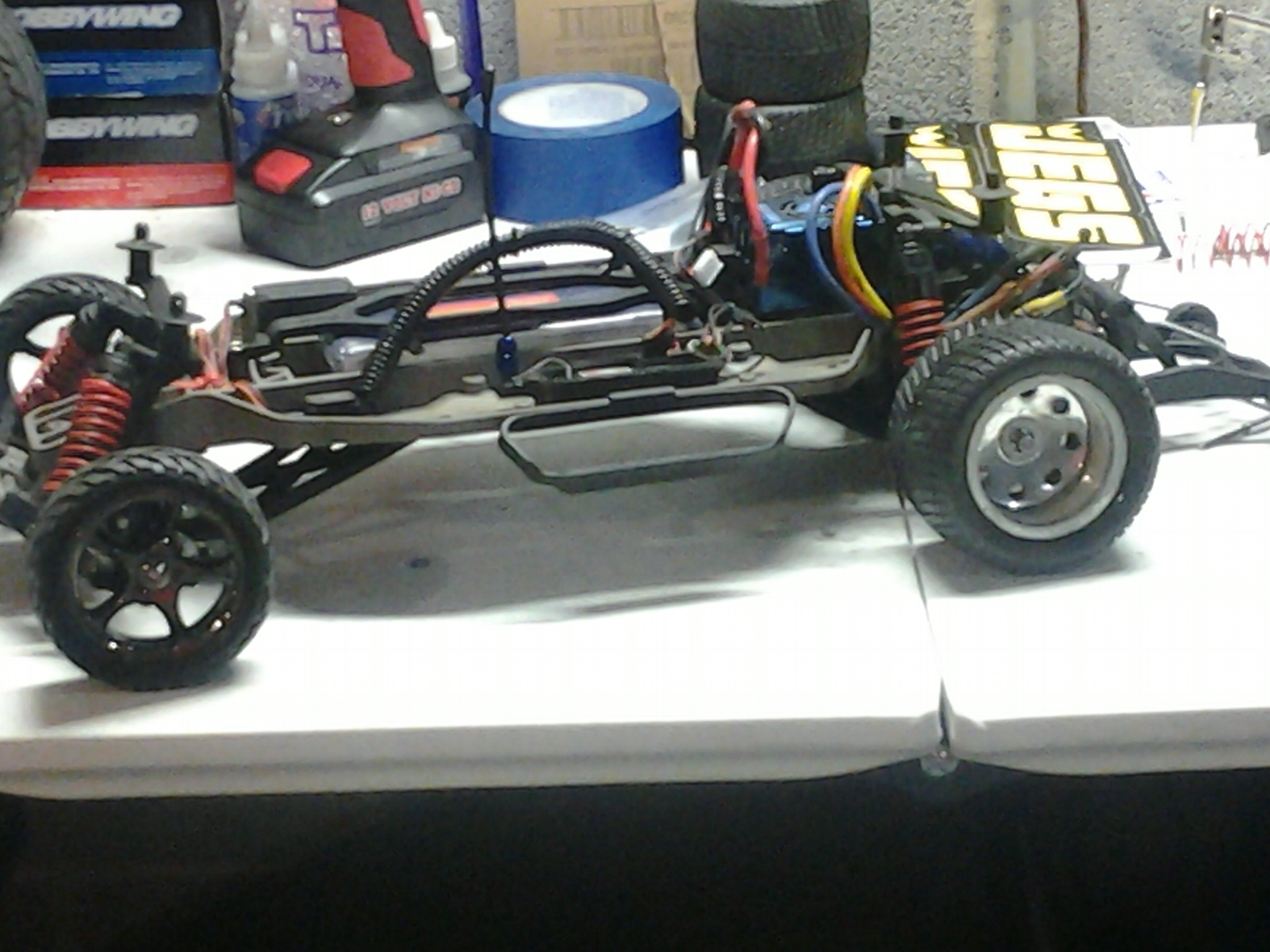 My Traxxas Slash Dragster Rcu Forums Screensaver Used For Sale Here Are Some Pictures With The Body Off And On Made Adjustments Lowered Rear More Add Bandit Arms Driveshafts