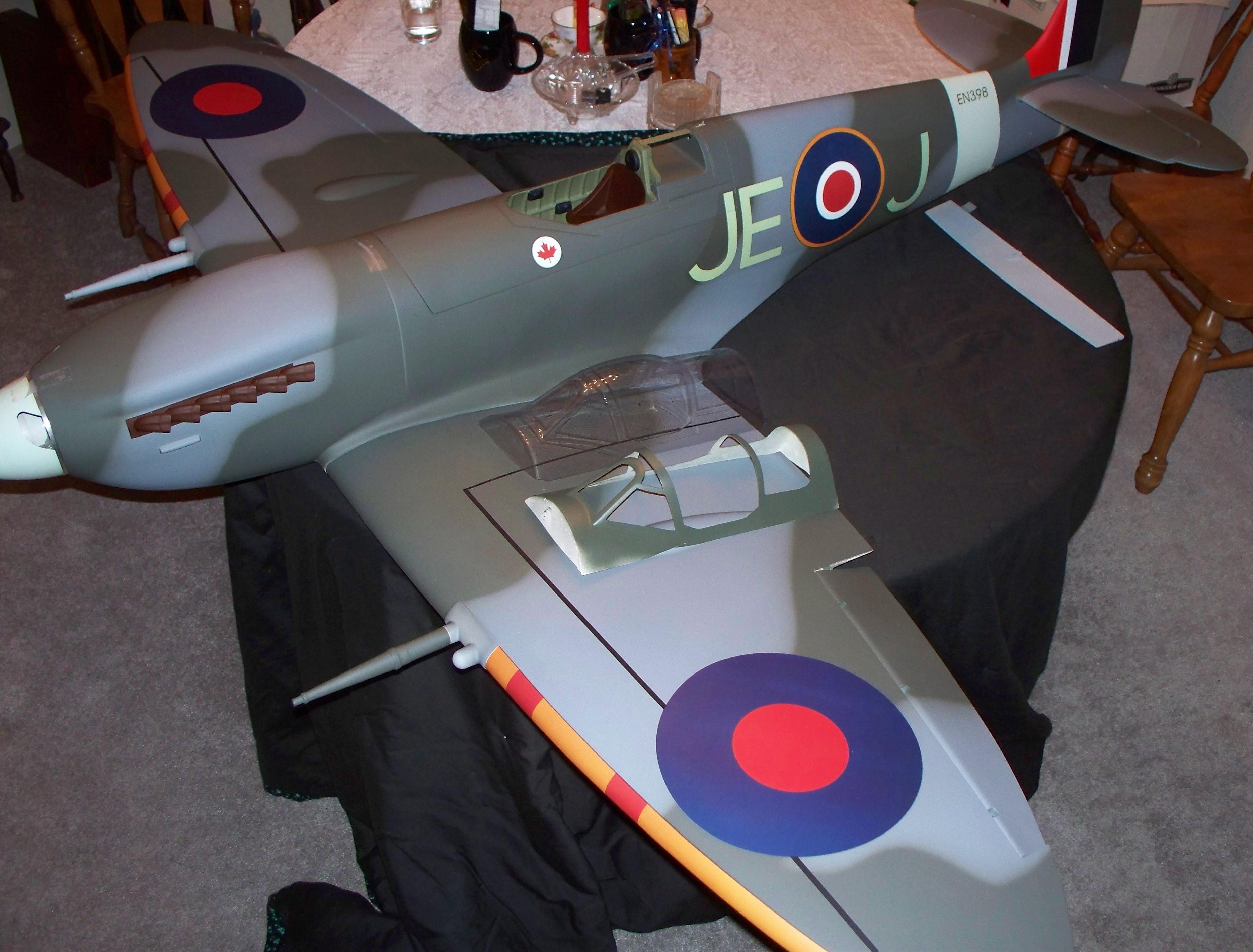 Top RC Models MkIV full Composite Spitfire-a game changer