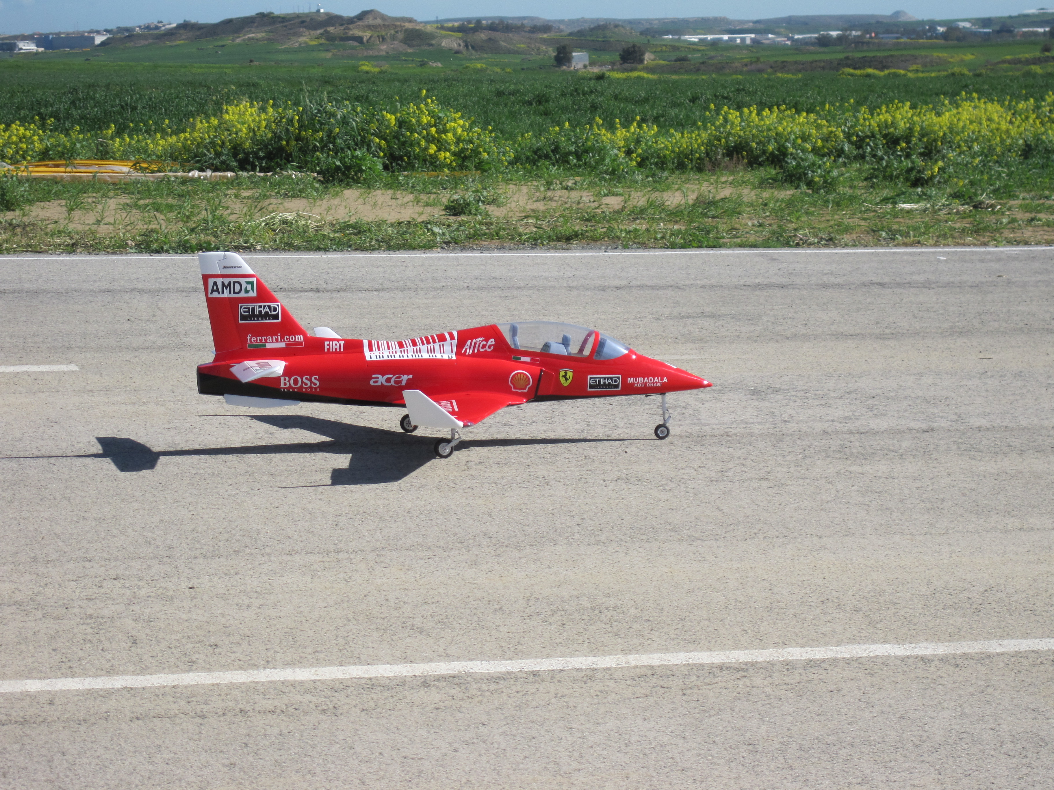 Flew the maiden flight of my Viper this morning. All went very smoothly.  Fly's as if on rails.