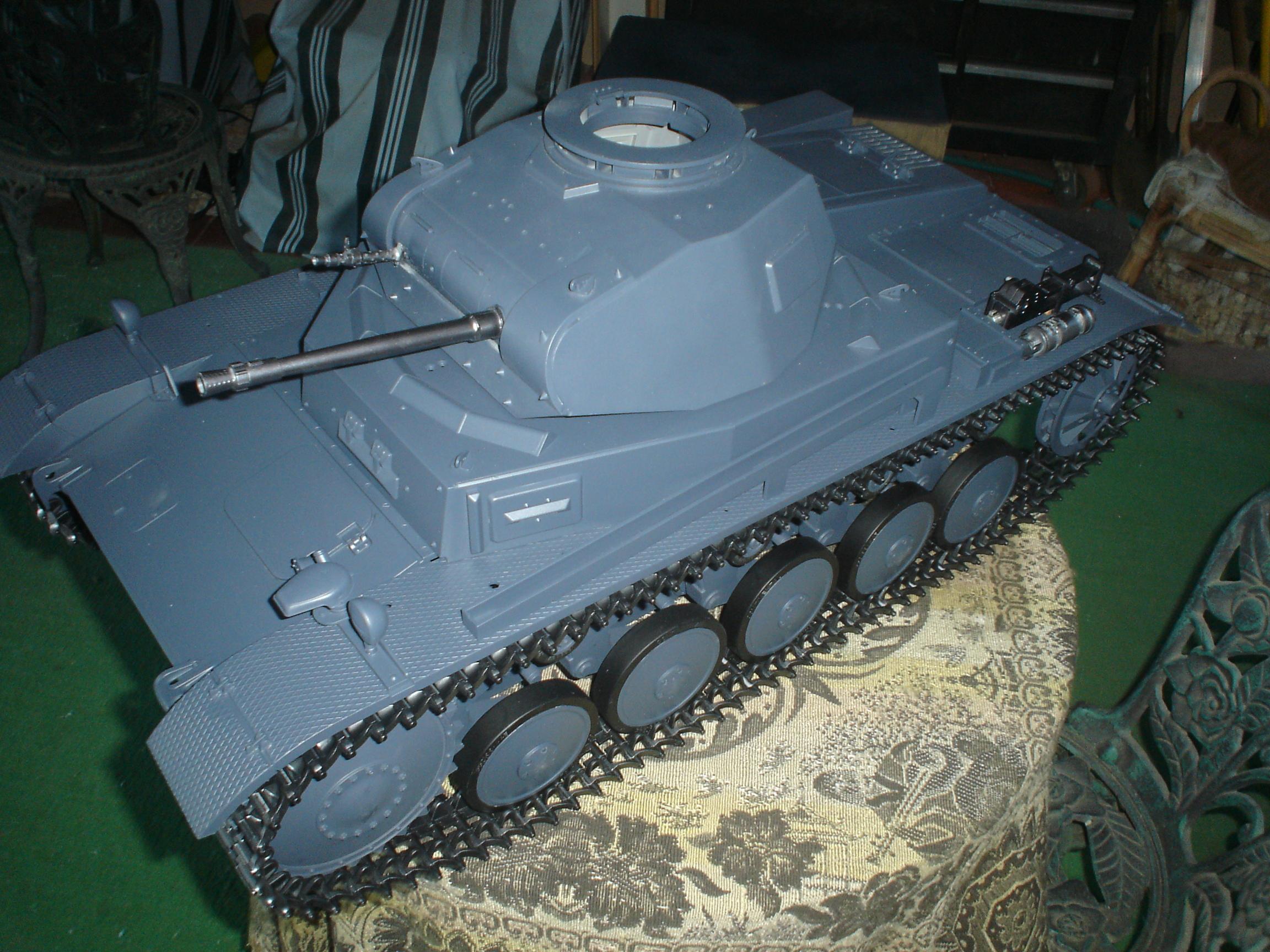 Dragon 1/6 Pz Kpfw II Ausf C finally done - RCU Forums