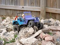 Click image for larger version  Name:Barbie's 1st rock crawl 001.JPG Views:1746 Size:326.3 KB ID:2088424