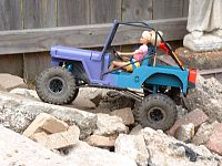 Click image for larger version  Name:Barbie's 1st rock crawl 002.JPG Views:1044 Size:327.7 KB ID:2088425
