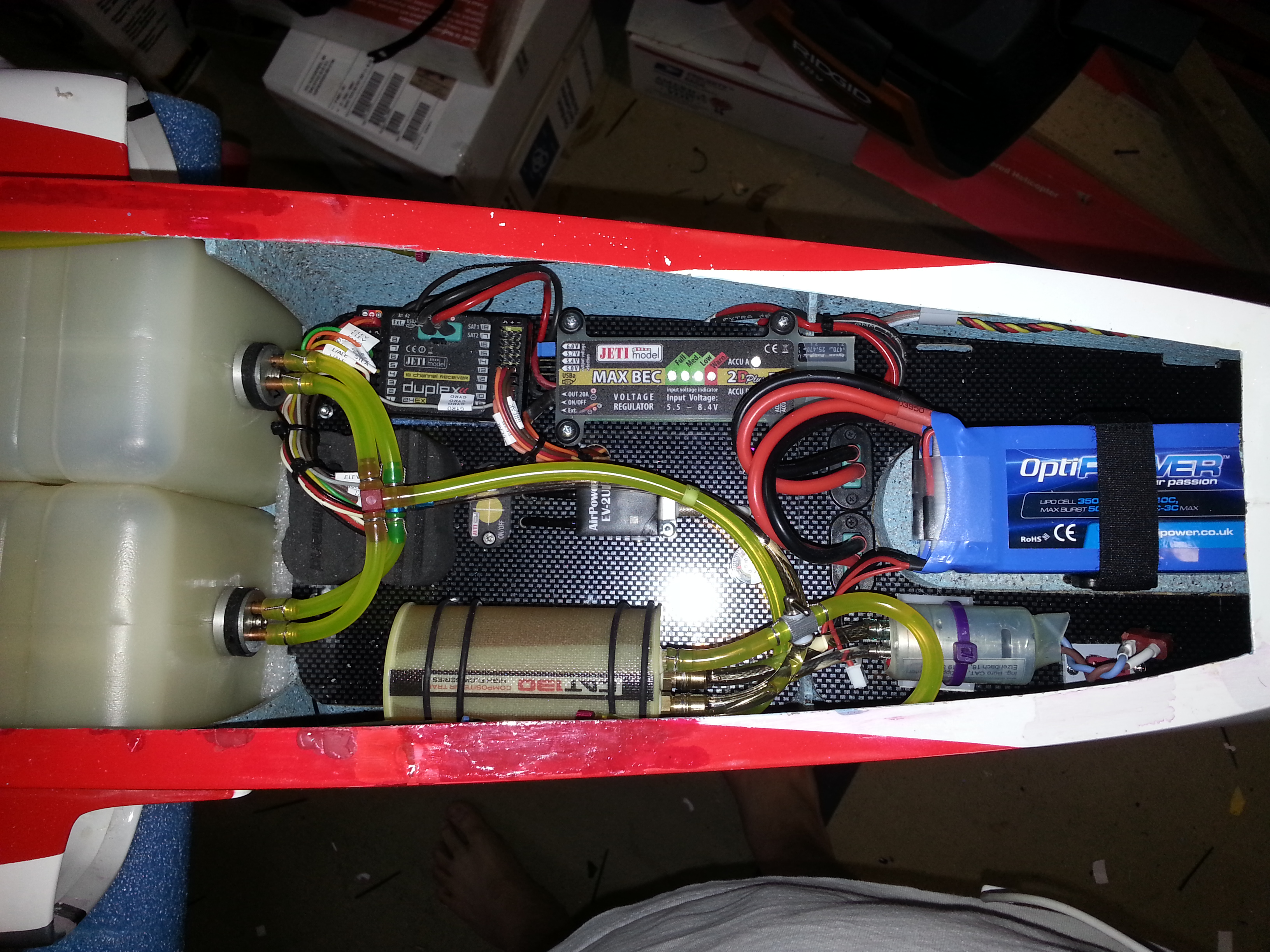 Jet Legend Viper Build Thread Page 59 Rcu Forums Surface Mounted Box And Wiring 1407 Chase After