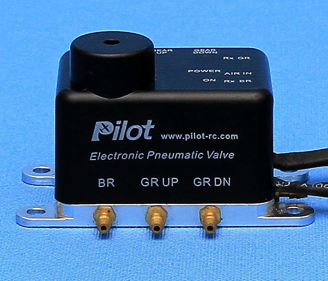 One way air valve pneumatic switch control valve f RC Turbine plane landing gear