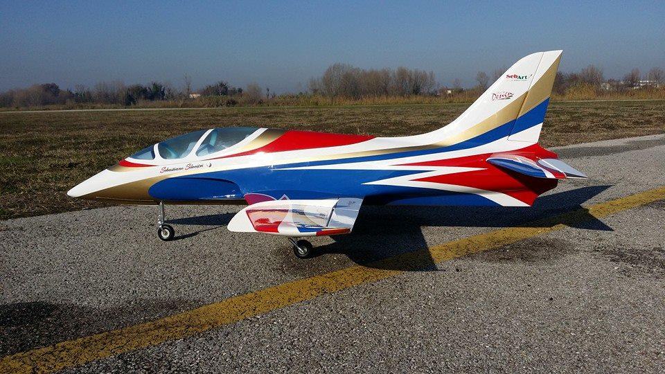 Click image for larger version  Name:SebArt Mini Avanti S 90mm EDF or P20 Turbine Jet White_Blue 2.jpg Views:1475 Size:151.7 KB ID:2095964