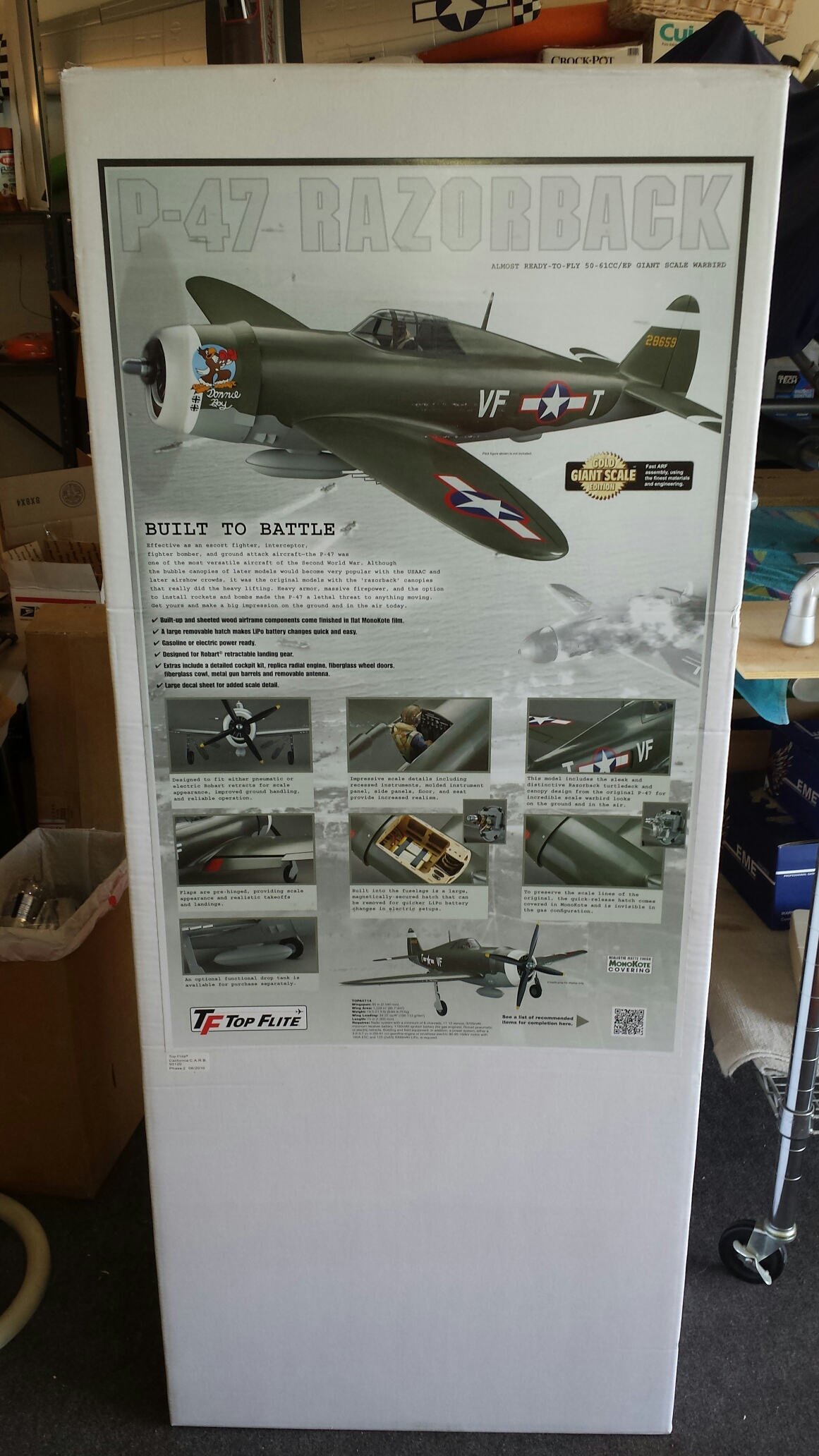 Topflite Giant P-47 Club - Page 23 - RCU Forums