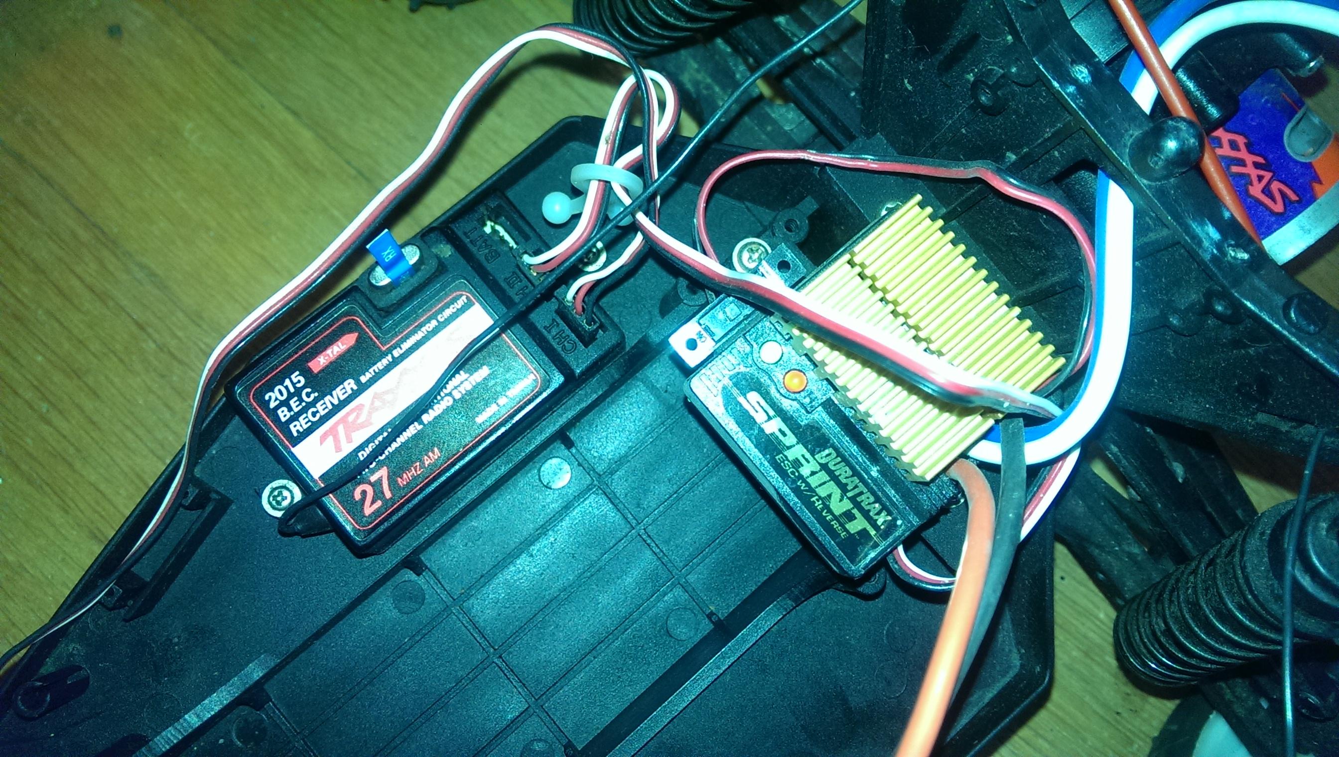 Help Identify older Traxxas.. Rustler? What batteries should I buy ...