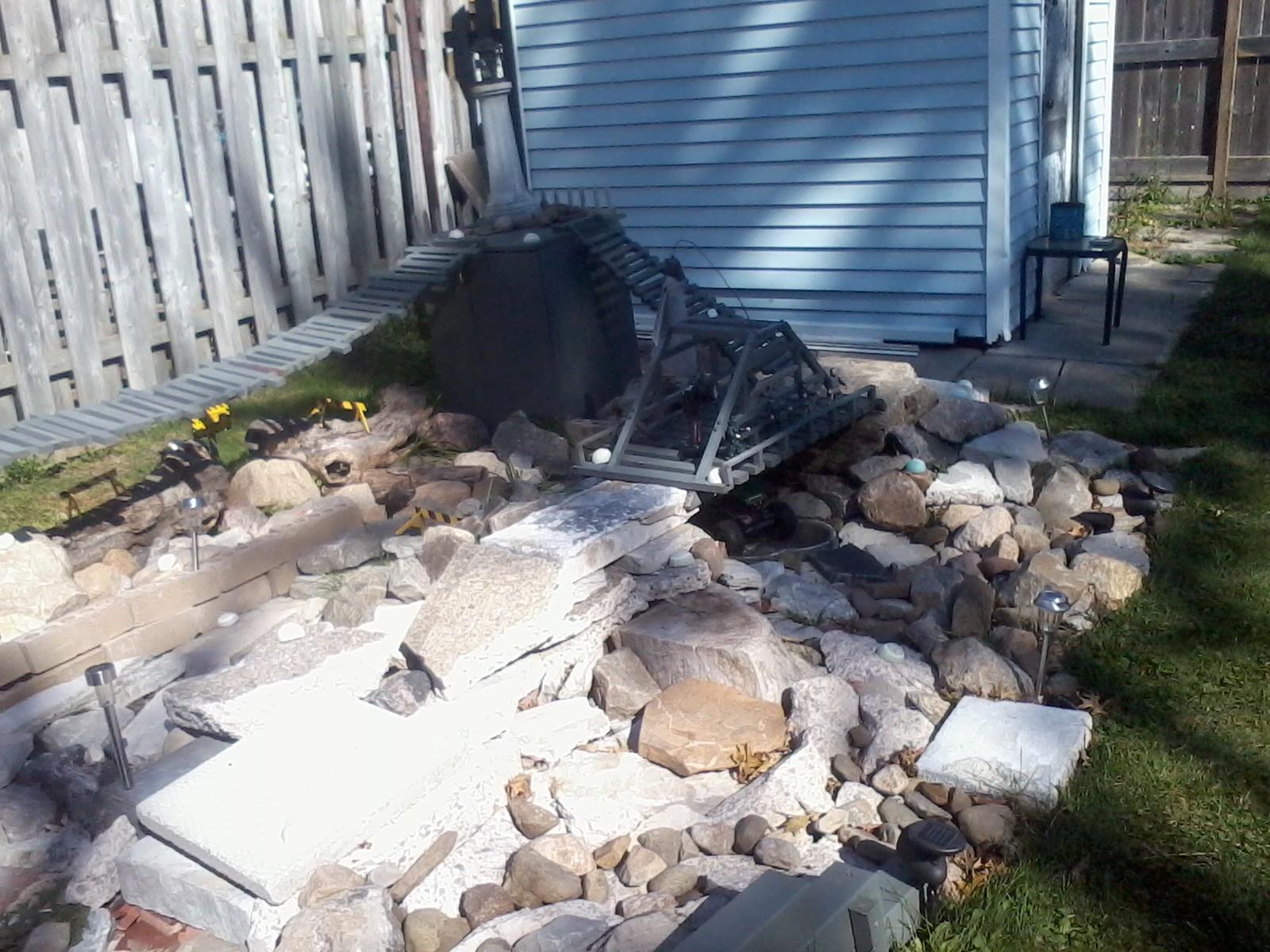 back yard crawler courses rcu forums
