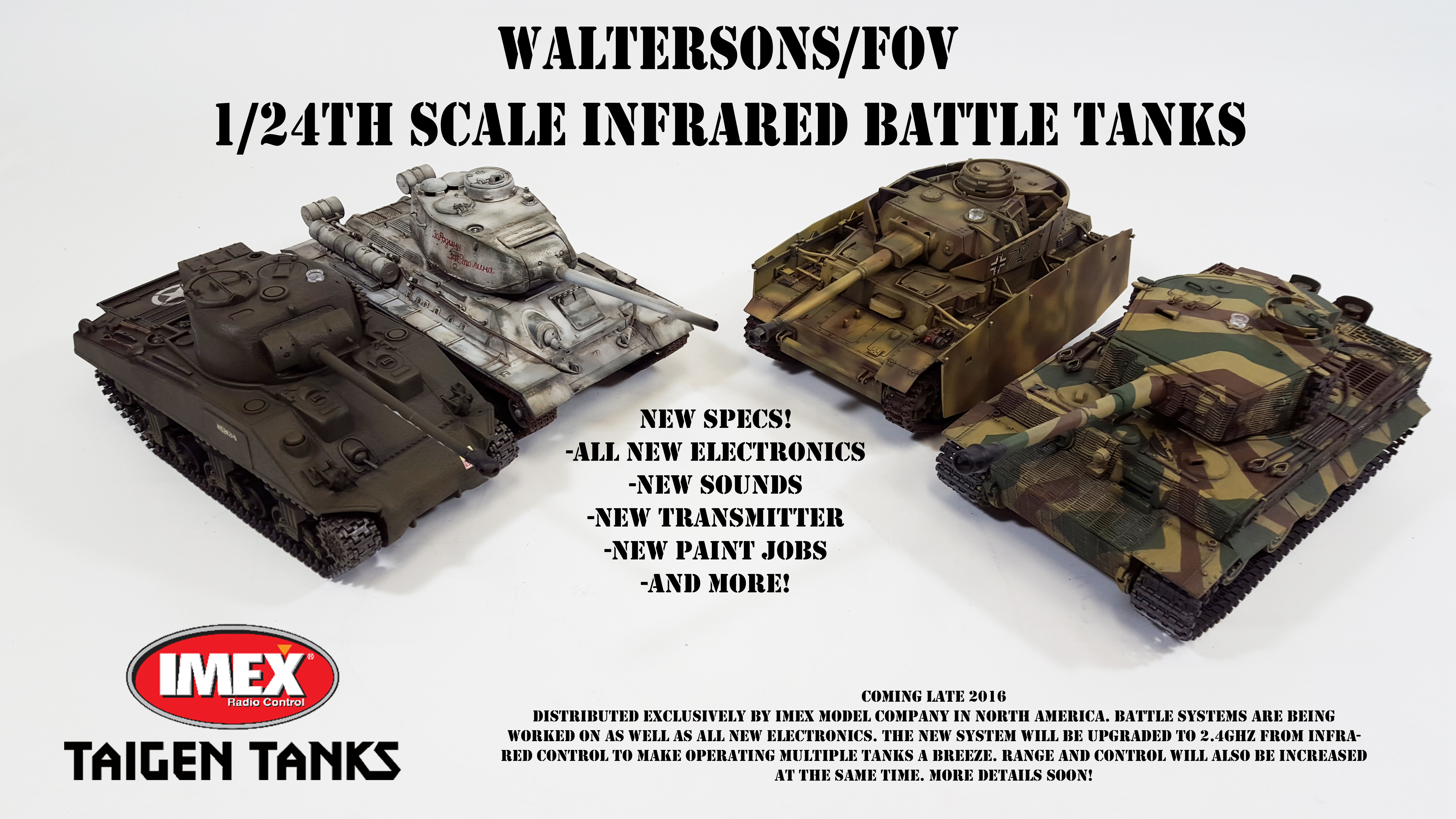 New Waltersons 1/24th Scale IR Battle Tanks! - RCU Forums