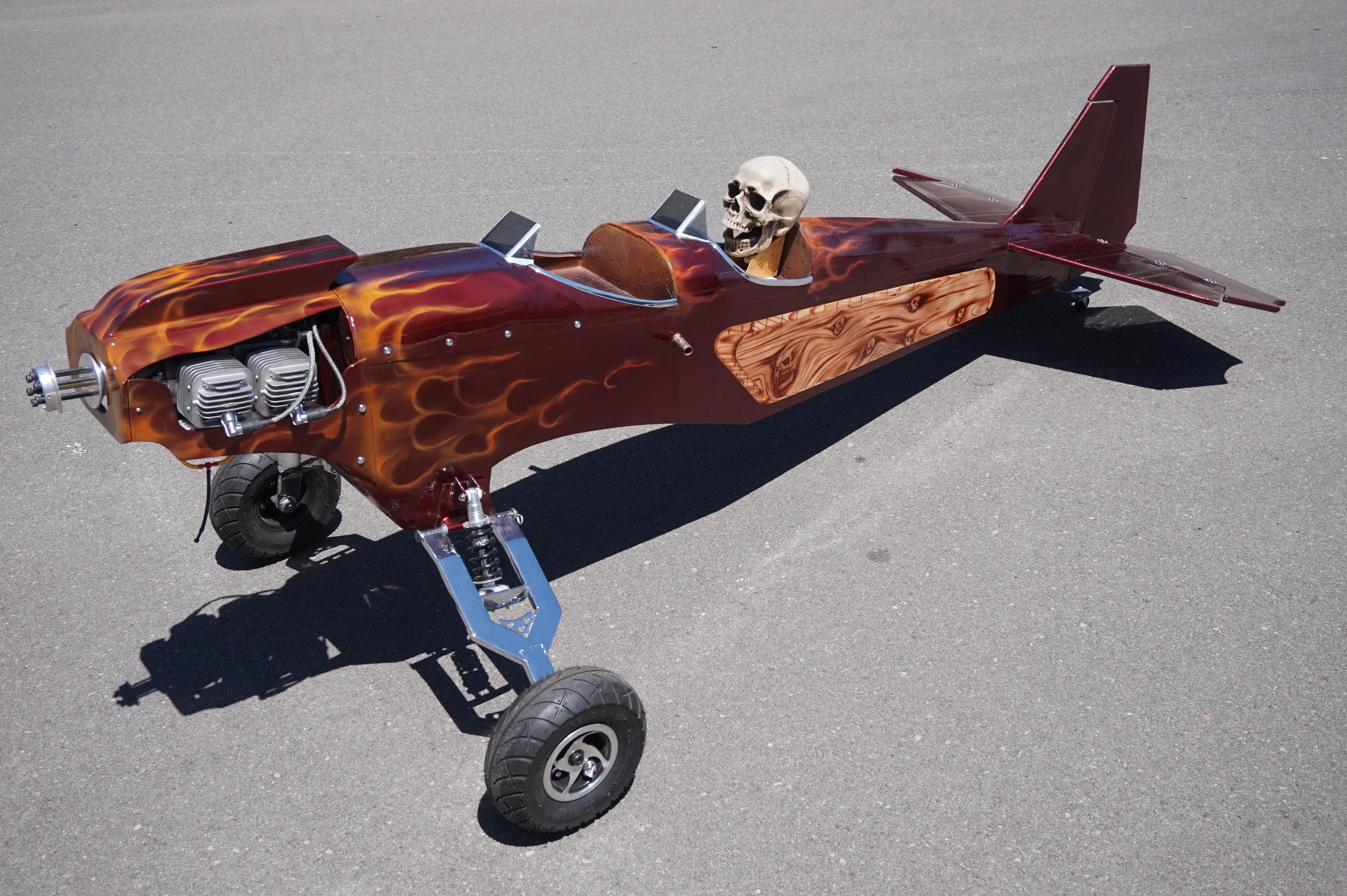Custom airplane painting ? - RCU Forums