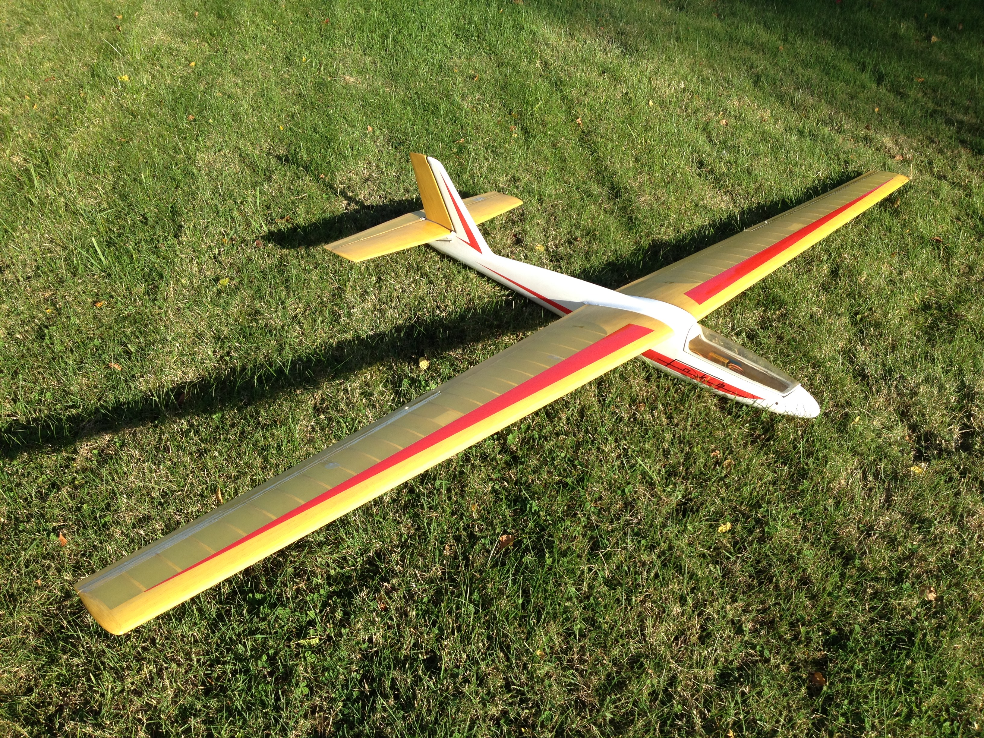 Starting with my collection of old Graupner gliders