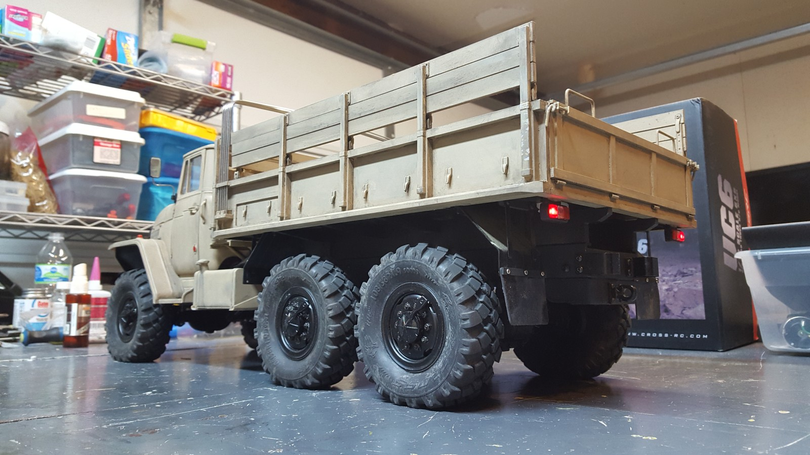 CROSS RC UC6 6x6 Ural Truck - RCU Forums