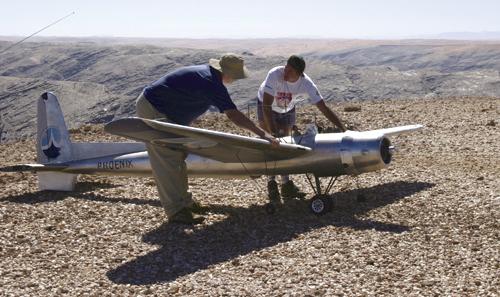 Flight of the Phoenix RC Model - RCU Forums