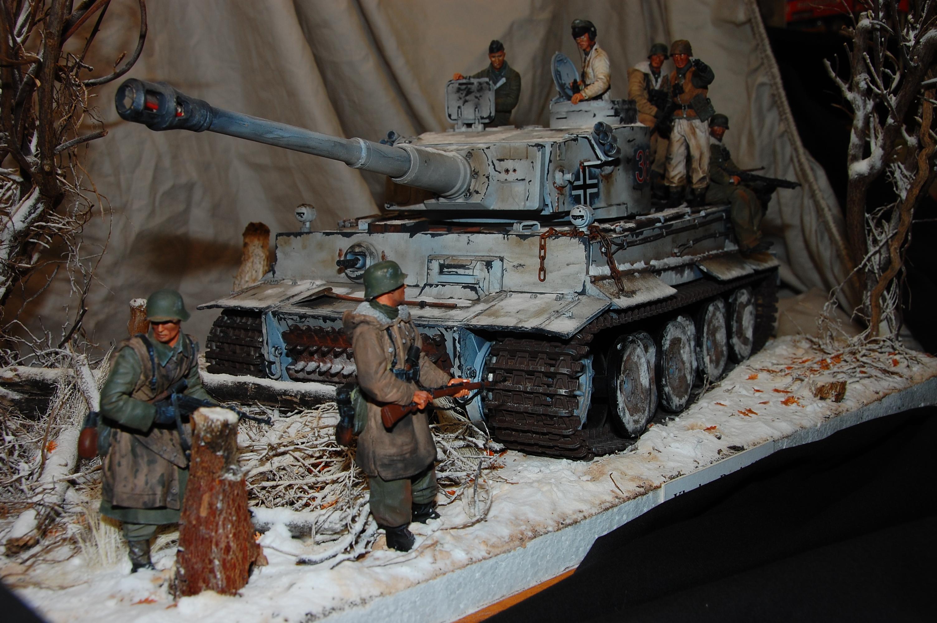 1/16 Tank Diorama Finished w/ Autmn Leaves - RCU Forums