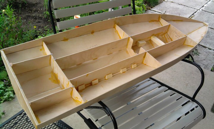 48in mono hull scratch build - RCU Forums