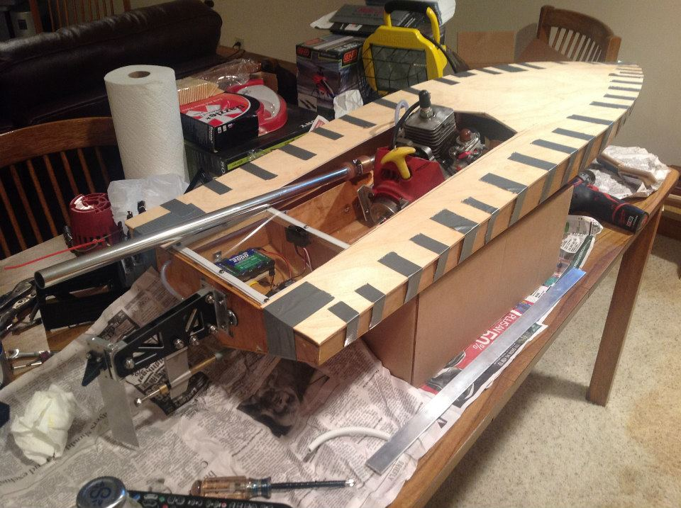 48in mono hull scratch build - RCU Forums