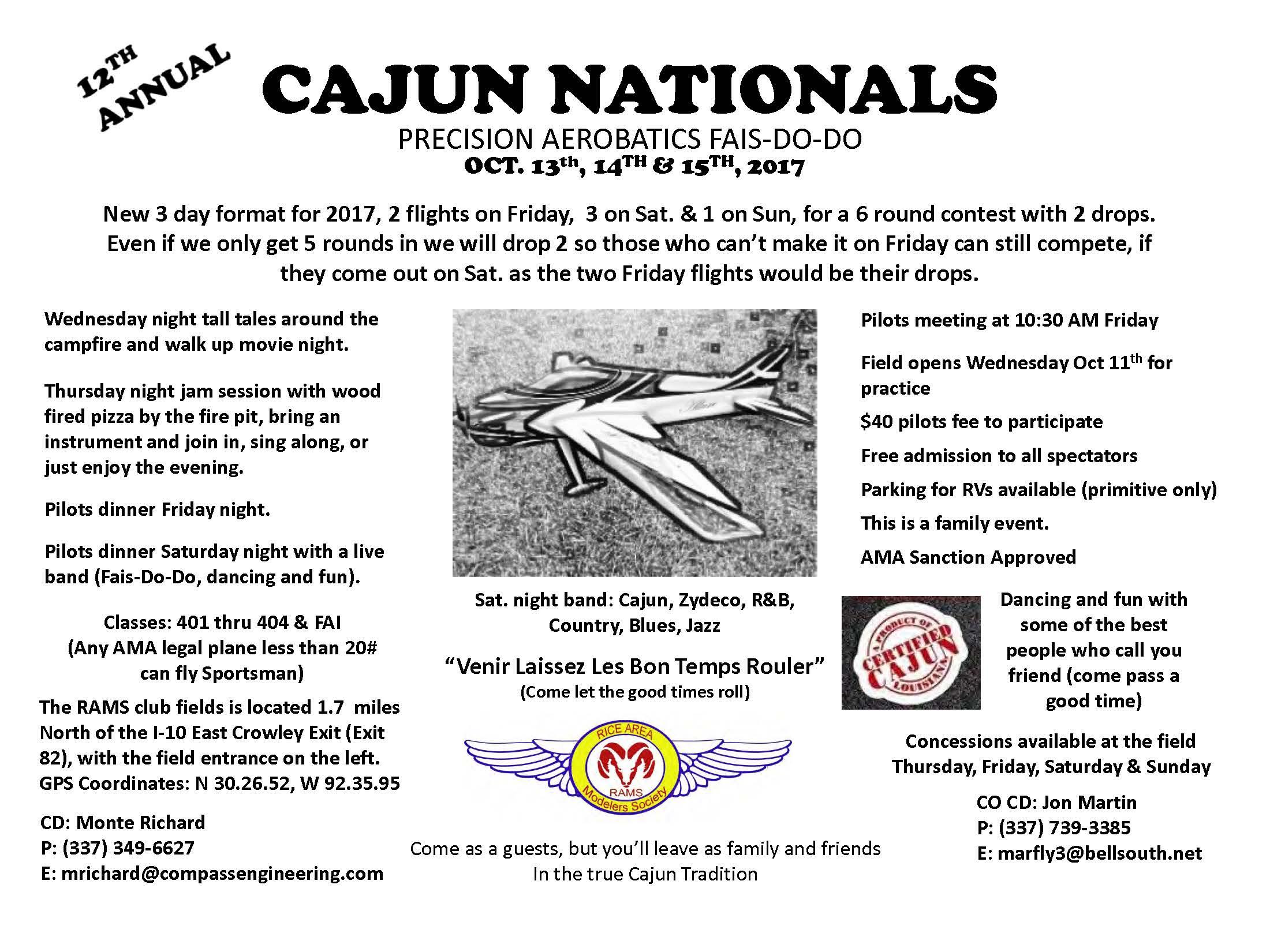 Click image for larger version  Name:2017 Cajun Nats Flyer.jpg Views:23 Size:380.8 KB ID:2239968