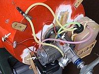 Click image for larger version  Name:tn_GEE BEE R1Motor och tank snett från vänster.JPG Views:15 Size:62.1 KB ID:2251051