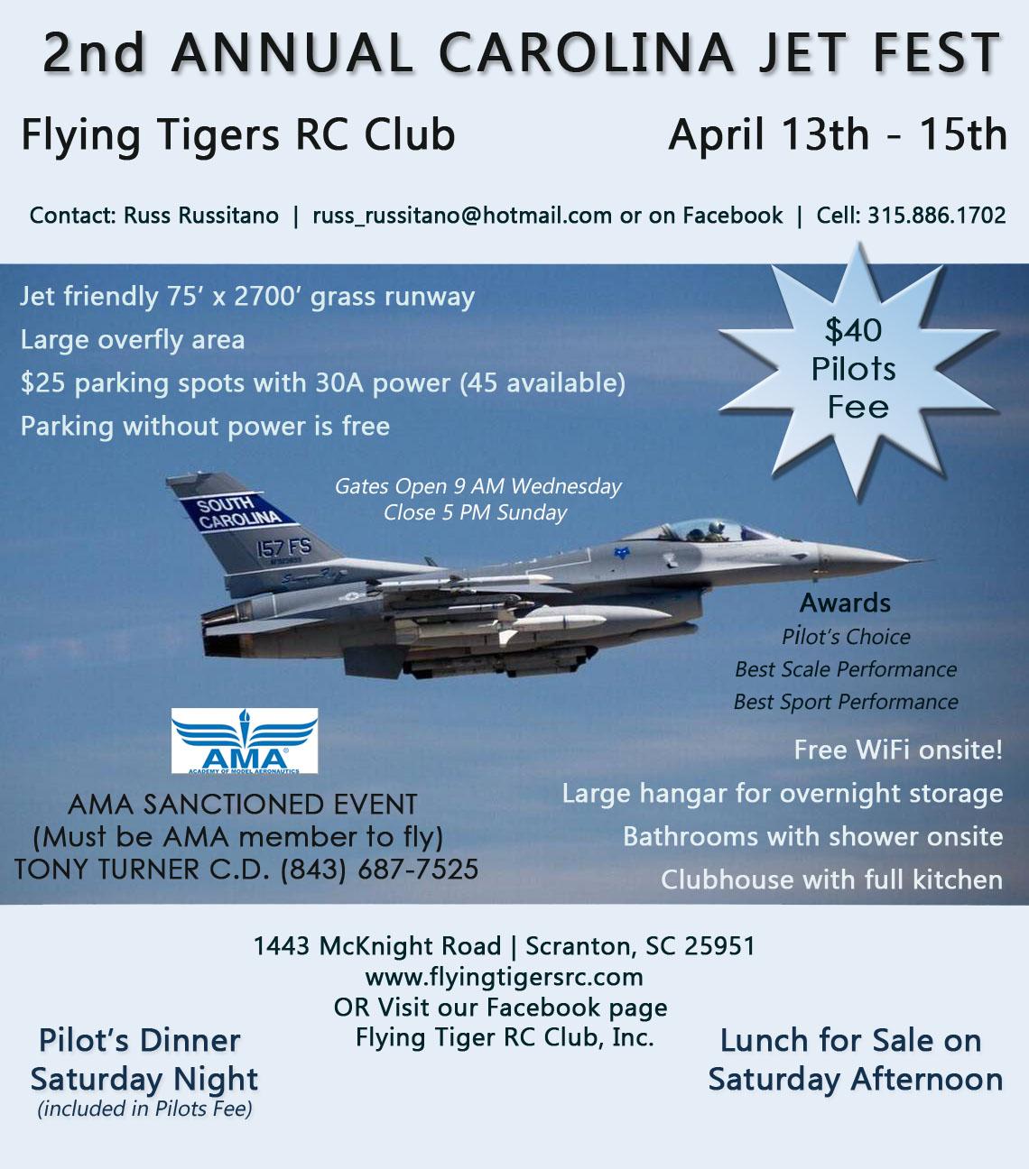 2018 Jet Events [USA ONLY] - RCU Forums