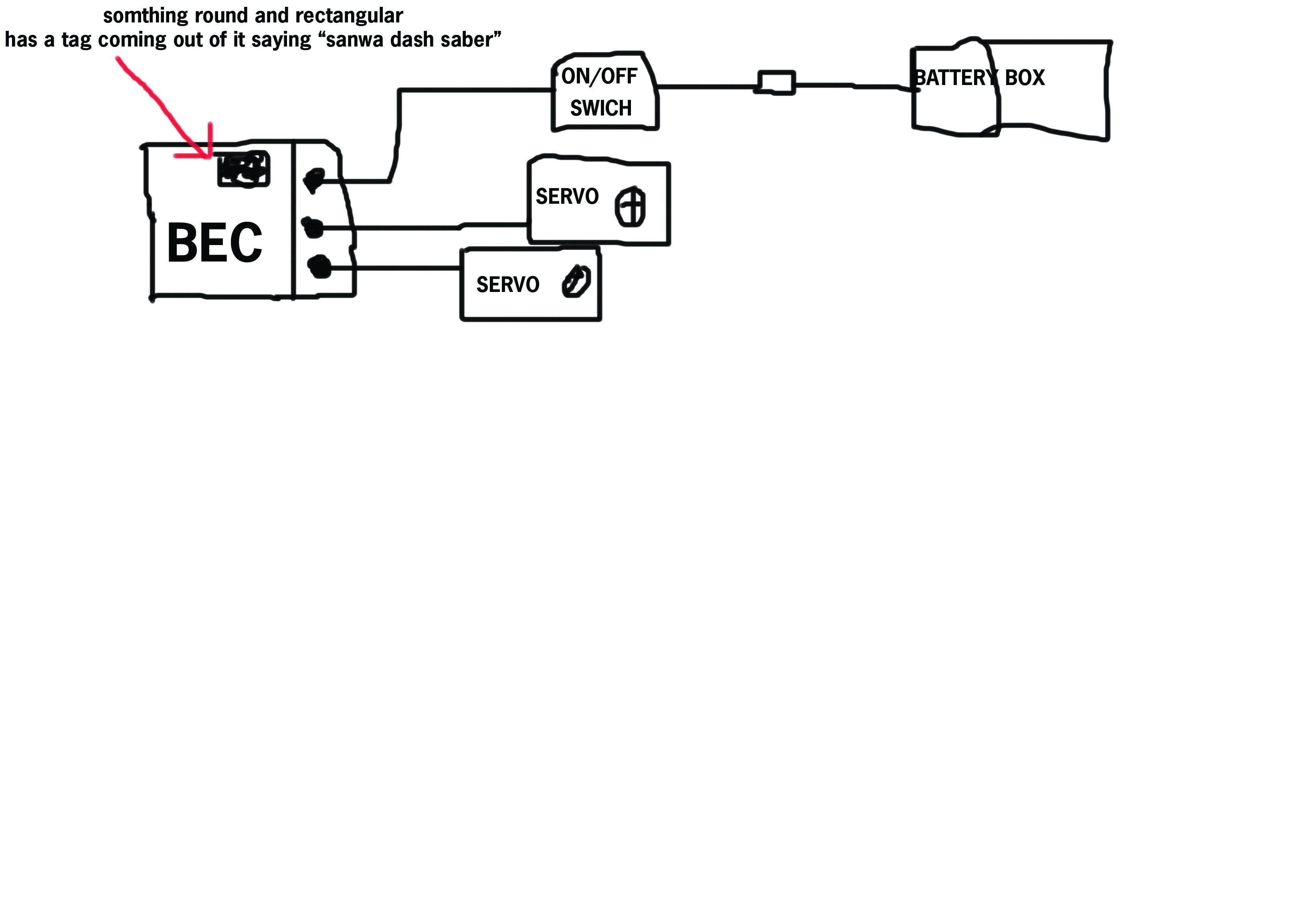How To Connect A Sanwa Dash Saber Rcu Forums Joystick Wiring Diagram Ax72727