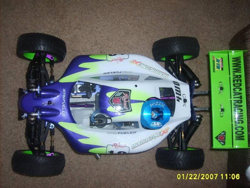 Redcat Racing 566 Rear Lower Suspension Arm Pins Screw Thread 2 Piece