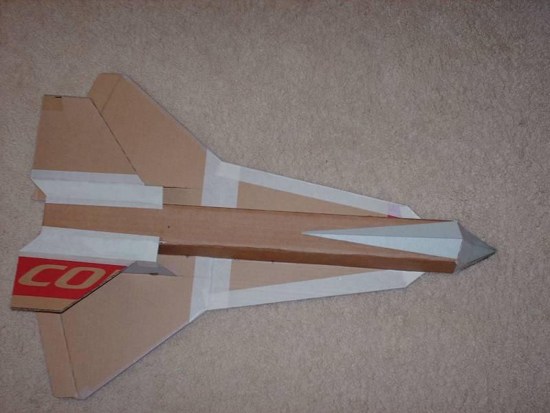 cardboard airplane plans! - RCU Forums