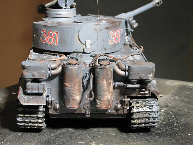 Weathering the Tigers tow cables ? - RCU Forums