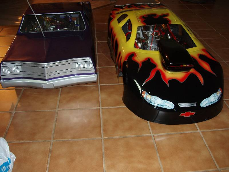 My 1/4 scale WCM Nascar to Drag Car - RCU Forums