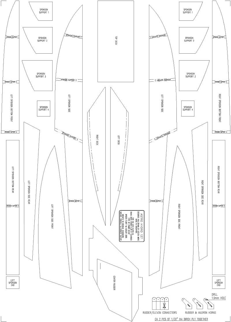 how to build an rc boat from scratch - RCU Forums